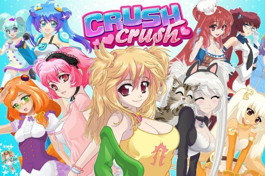 Crush Crush, jeu de drague virtuel et évolutif